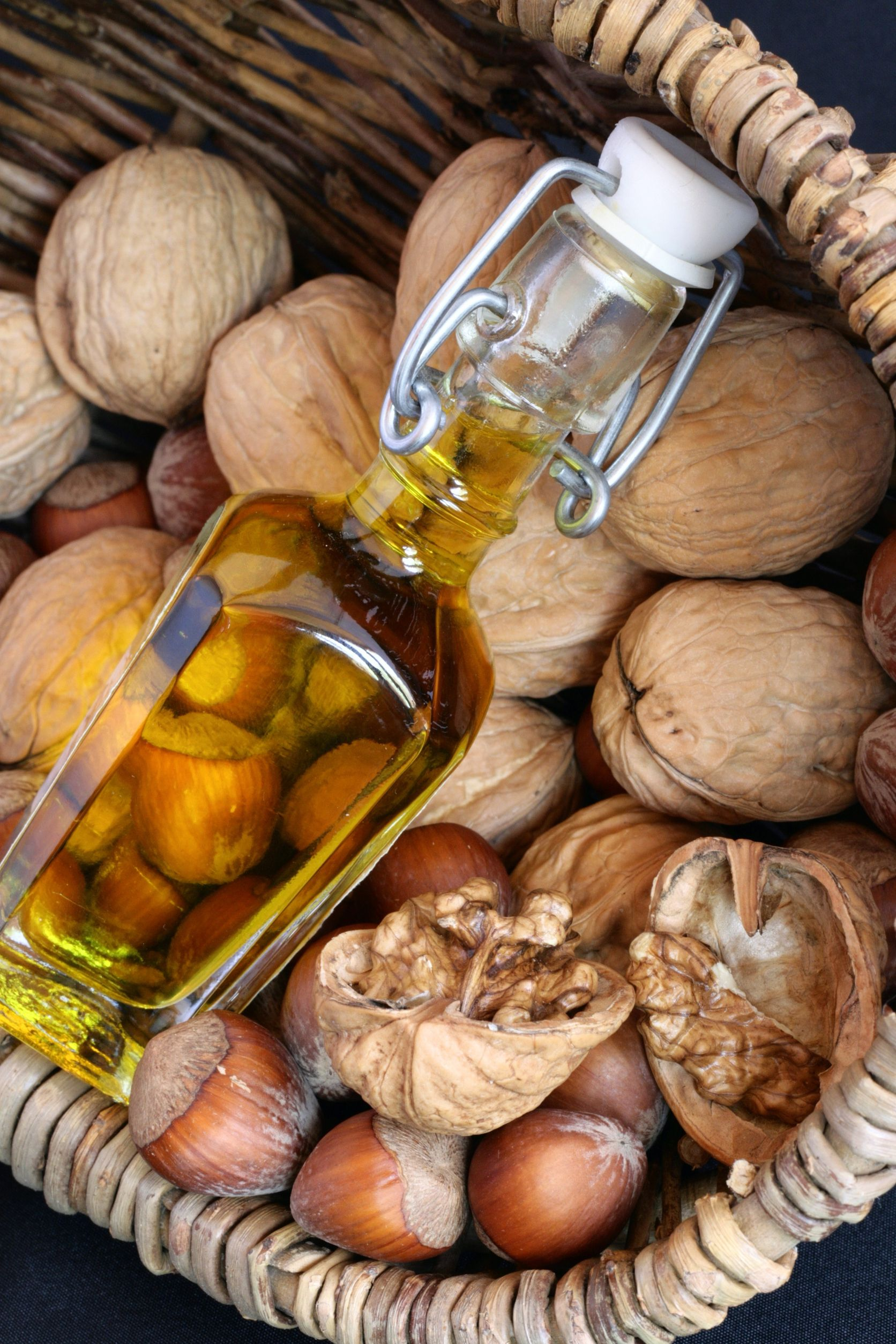 Virgin nut oil Hazelnuts