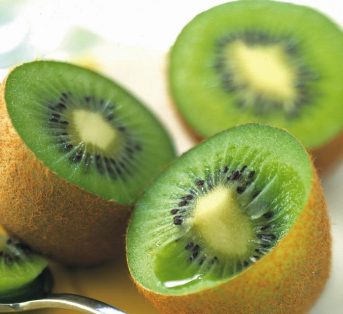 kiwi au petit déjeuner