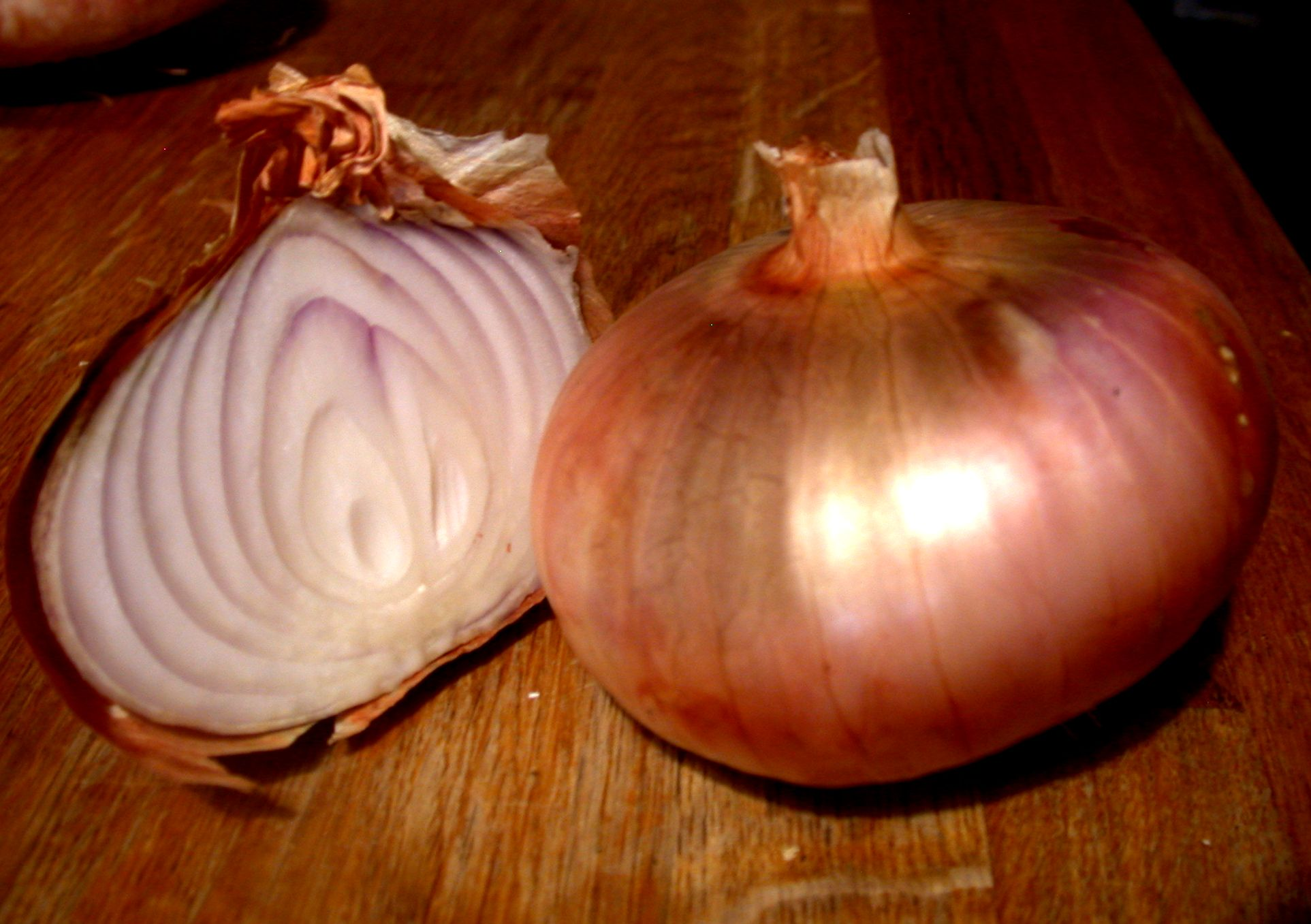 'Rouge Pale de Niort' onion