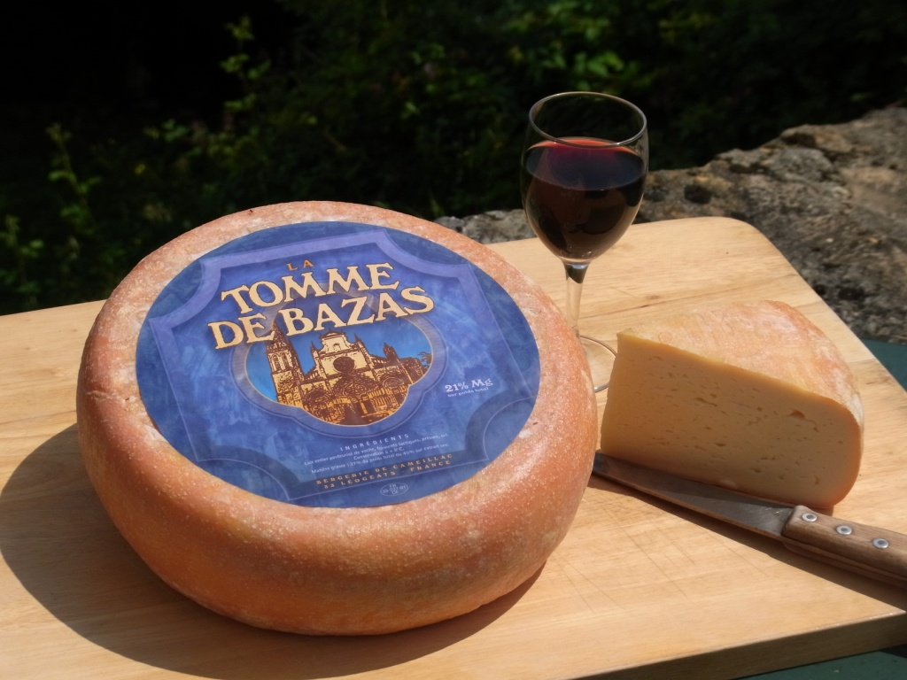 Tomme de Bazas and transhumance cheese