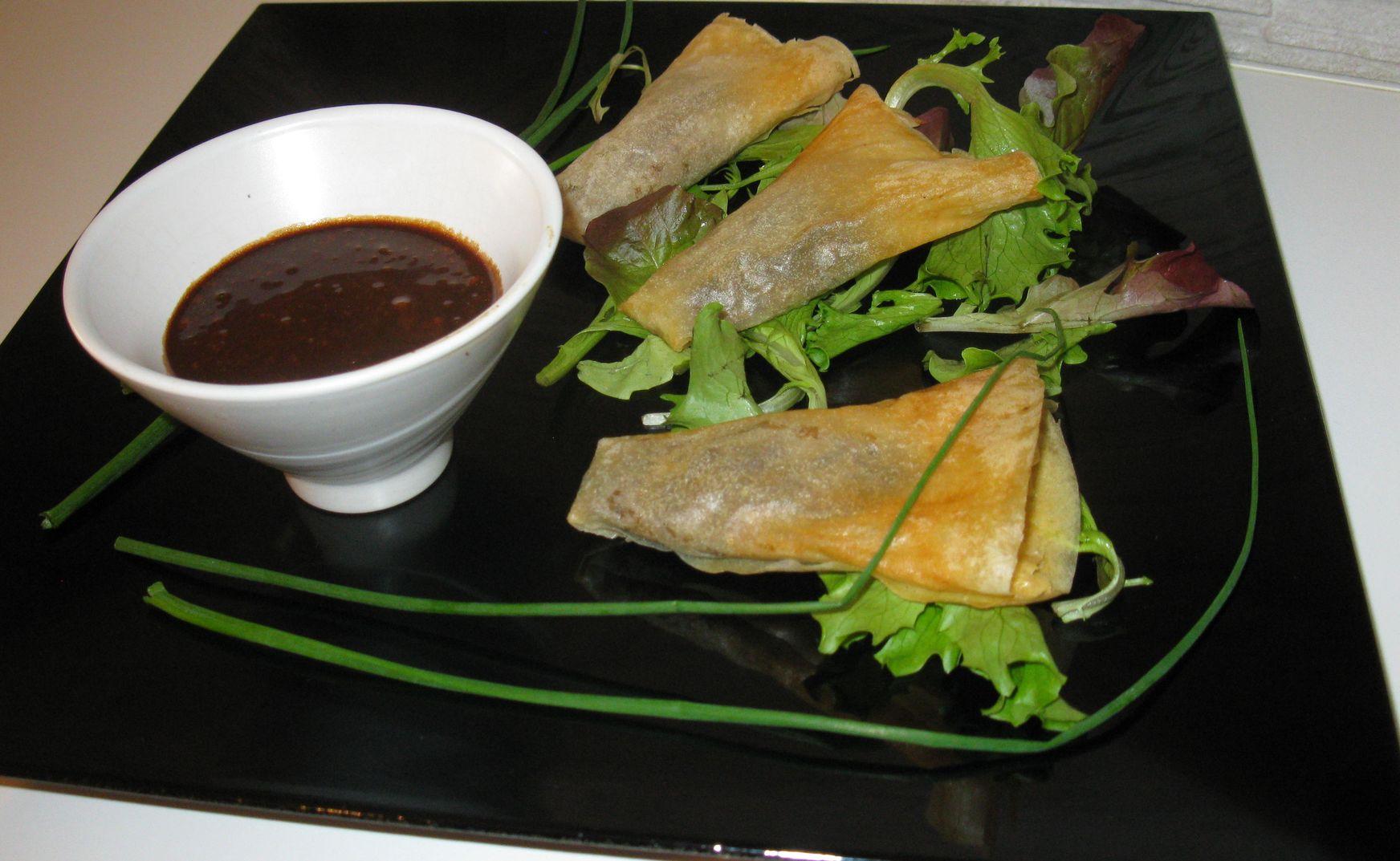 Cornets d'escargots au pain d'épice
