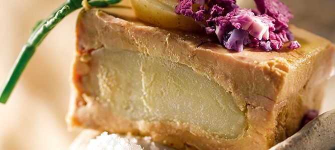 Foie gras de canard du Sud-Ouest retour de l'Île de Ré
