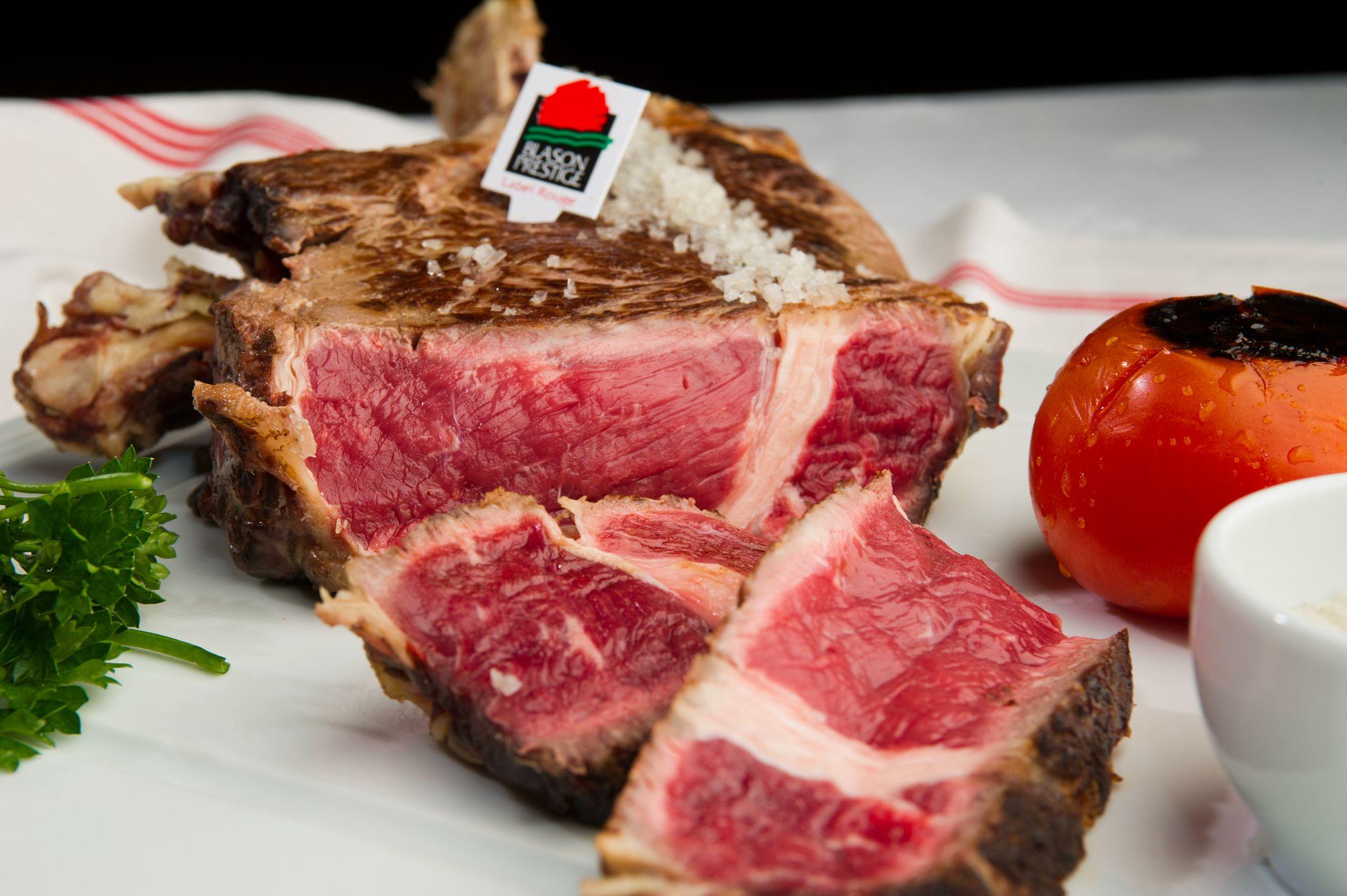 Côte de bœuf à l'os