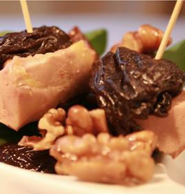 Pruneau d'Agen au foie gras du Sud-Ouest