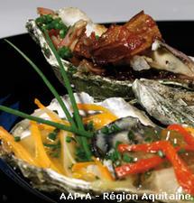Trilogie d'huîtres creuses d'Arcachon Cap-Ferret